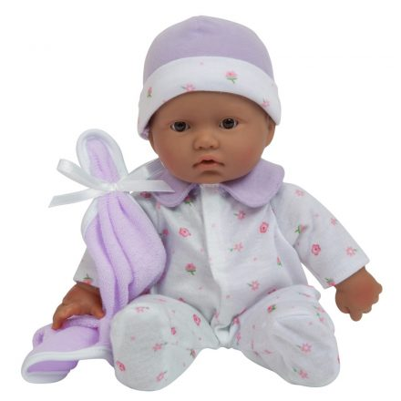 JC Toys La Baby 11-Inch Hispanic Washable Soft Body Play Doll