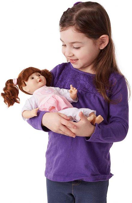 Melissa & Doug Mine to Love Brianna 12- Inch Soft Body Baby Doll