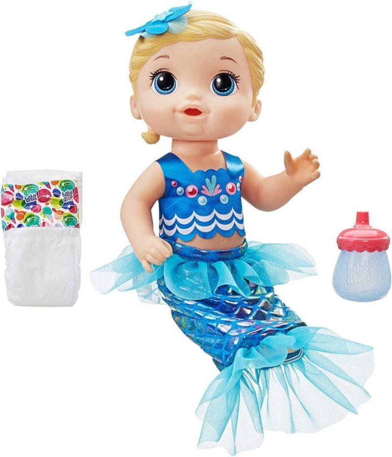 Baby Alive Shine 'n Splash Mermaid Doll