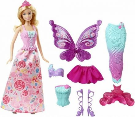 Barbie Fairytale Dress-up Doll Review