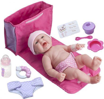 JC Toys La Newborn 10 Piece Deluxe Diaper Bag Gift Set Review