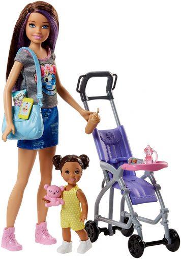 Barbie Skipper Babysitter and Stroller Play-set Review