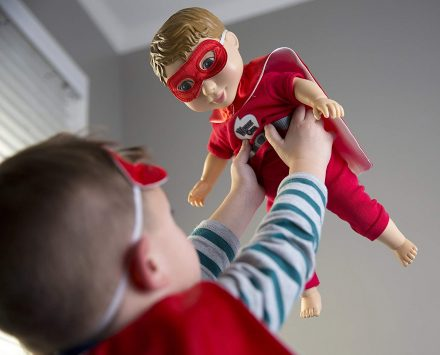 WHY BOYS SHOULD PLAY WITH DOLLS