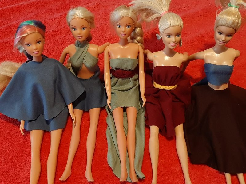 Can Kids Make Their Own Barbie Clothes